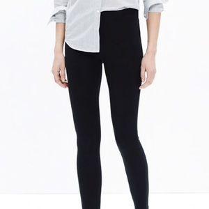 Madewell Knit Leggings in True Black Women Size S